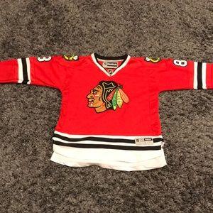 Reebok Blackhawks Patrick Kane YOUTH hockey jersey